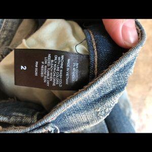 Express Shorts - Express blue Jean shorts